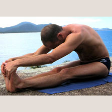 Forward Bend (Paschimottanasana)