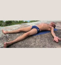 Relaxation pose (Savasana)