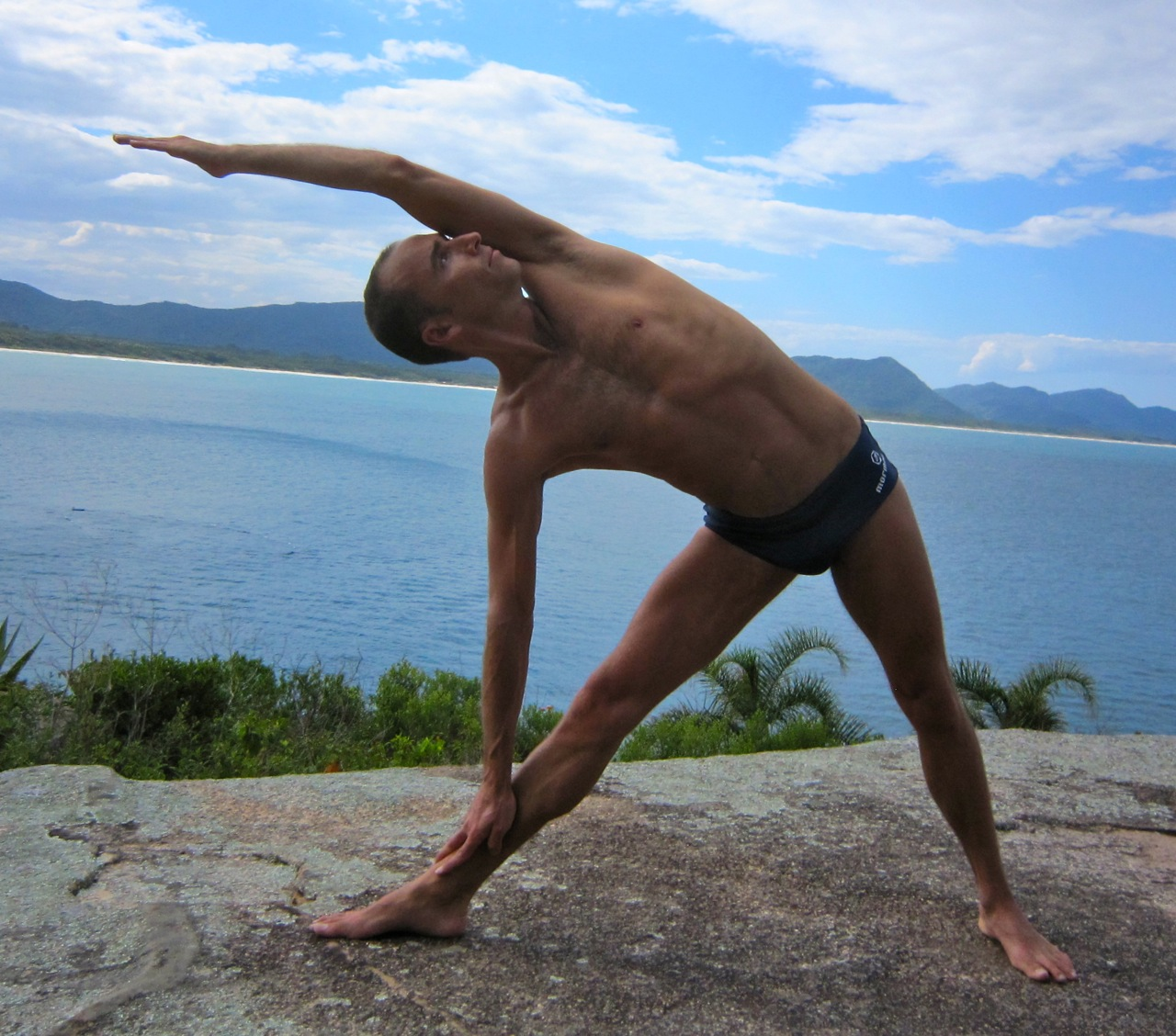 The Triangle - Trikonasana