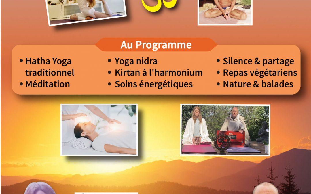 Retraite de Yoga, méditation, Kirtan & Guérison